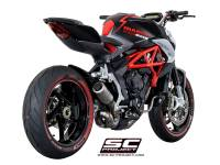 SC Project - SC Project CR-T Exhaust: MV Agusta Brutale 675-800 / Dragster-RC-RR - Image 2
