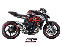 SC Project - SC Project CR-T Exhaust: MV Agusta Brutale 675-800 / Dragster-RC-RR - Image 3