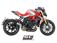 SC Project - SC Project CR-T Exhaust: MV Agusta Brutale 675-800 / Dragster-RC-RR - Image 4