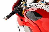STRAUSS CARBON - Strauss Carbon Fiber Race Version Tank Sliders: Ducati Panigale V4/S