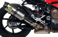 Exhaust - Full Systems - Arrow - Arrow Race-Tech Slip-On Exhaust: BMW S1000RR 2020