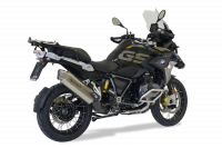 HP Corse - HP Corse 4-Track Satin Stainless Slip-on Exhaust: BMW R1250 GS '19+