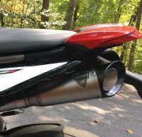 Shift-Tech - Shift-Tech Dual Stainless Exhaust: Ducati Hypermotard 950/SP