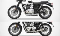 Zard - ZARD Racing Version 2-2 SS Full System: Triumph Bonneville T120 '16-'19 [Two Mounting Styles To Choose From]