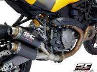 SC Project - SC Project GP Exhaust: Ducati Monster 821 '18-'19, 1200/S/R '17-'19