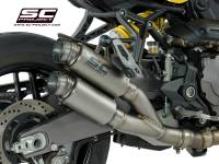SC Project - SC Project GP70-R Exhaust: Ducati Monster 821 '18-'19, 1200/S/R '17-'19