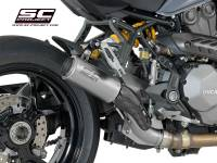 SC Project - SC Project CR-T Exhaust: Ducati Monster 821 '18-'19, 1200/S/R '17-'19