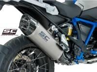 SC Project - SC Project Adventure Titanium Exhaust: BMW R1250GS