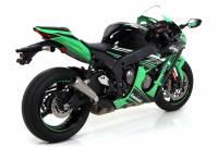 Arrow - Arrow Pro-Race Titanium Exhaust: Kawasaki Ninja ZX-10R/RR '17-'19