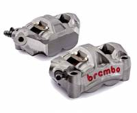 "Brake - Calipers - Brembo - BREMBO Cast Monobloc GP4-RS Caliper Set:108mm ""Radial Mount"" [Including Pads]"