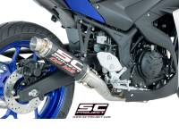 SC Project - SC Project GP-M2 Exhaust: Yamaha R3