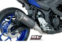 SC Project - SC Project Oval Exhaust: Yamaha R3
