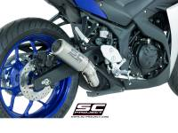 SC Project - SC Project CR-T Slip-on Exhaust: Yamaha R3