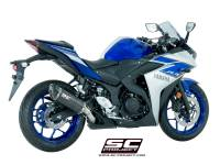 SC Project - SC Project Oval Slip-on Exhaust: Yamaha R3