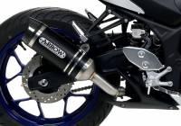 Arrow - Arrow Thunder Slip on Exhaust: Yamaha R3