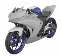 Parts - Body - Hot Bodies Racing - Hot Bodies Racing Bodywork: Yamaha R3