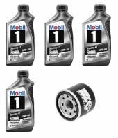 Mobil 1 - Mobil 1 10W-40 Oil Change Kit: Yamaha R3