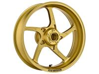 "OZ Motorbike - OZ Motorbike Piega Forged Aluminum Rear Wheel Old Gold style: Ducati 749/999 [6.0""] - Image 6"