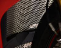 Engine & Performance - Engine Cooling - Motocorse - Motocorse Titanium Water Radiator Guard: Ducati Panigale V4/S/R