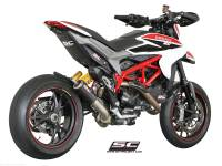SC Project - SC Project CR-T Slip On Exhaust: Ducati Hypermotard 821-939