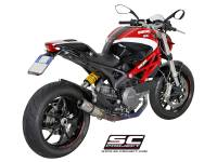 SC Project - SC Project CR-T Exhaust: Ducati Monster 796