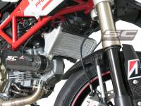Parts - Engine & Performance - SC Project - SC Project Oversized Oil Cooler: Ducati Hypermotard 1100/S '07-'09