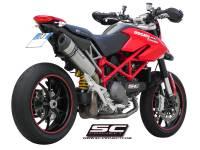 SC Project - SC Project Oval Exhaust: Ducati Hypermotard 1100 EVO/SP