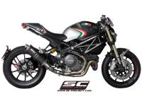 SC Project - SC Project Oval R60 Exhaust: Ducati Monster 1100 EVO