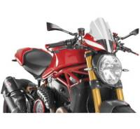 Puig - Puig Naked Bike Touring Windscreen: Ducati Monster 1200R