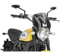 Puig - Puig Naked Bike Sport Windscreen: Ducati Scrambler - Image 2