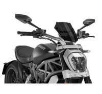 Puig - Puig New Generation Sport/Touring Windscreen: Ducati XDiavel