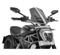 Puig - Puig Naked Bike Sport/Touring Windscreen: Ducati XDiavel - Image 4