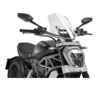 Puig - Puig Naked Bike Sport/Touring Windscreen: Ducati XDiavel - Image 3