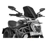 Puig - Puig Naked Bike Sport/Touring Windscreen: Ducati XDiavel - Image 5