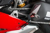 LighTech - Lightech Adjustable R-Version Rearsets: Ducati Panigale V4/S/R