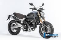 ILMBERGER CARBON - Ilmberger Carbon Fiber Headlight Cover: Ducati Scrambler 1100, Sport, Special