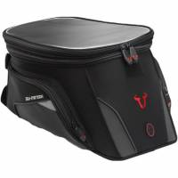 Body - Fasteners & Mounts - SW-Motech - SW-Motech EVO Trial 15-22L Tank Bag with Locking Ring: Ducati Multistrada 950-1200-1260