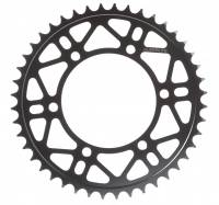 SUPERLITE - Superlite RSX Series Black Steel Rear Sprocket: Ducati Multstrada Enduro: 530/ 43 or 45