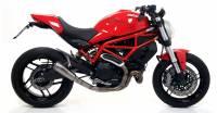 Parts - Exhaust - Arrow - Arrow Pro Race Exhaust: Ducati Monster 797