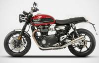 Zard - Zard Conical Slip-on Exhaust: Triumph Speed Twin '18-'19