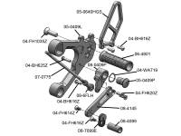 Woodcraft - Woodcraft Adjustable Rearsets: Yamaha XSR900, FZ-09, MT-09, FJ-09 - Image 5