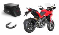 SW-Motech - SW-Motech EVO Trial 15-22L Tank Bag with Locking Ring: Ducati Multistrada 950-1200-1260