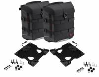 SW-Motech - SW-MOTECH SysBag 15 Left & Right Soft Saddlebags With Adapters For QUICK-LOCK PRO Side Carriers | 30L Total