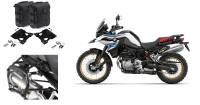 SW-Motech - SW-MOTECH PRO Side Carriers and SysBag Left-Right 30L Soft Saddlebags: BMW F850GS, F750GS