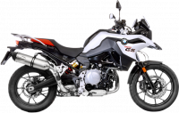 LeoVince - LeoVince Stainless Steel Slip-on Exhaust: BMW F850GS, F750GS