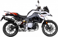 LeoVince - LeoVince Carbon Fiber Slip-on Exhaust: BMW F850GS, F750GS