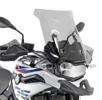 Parts - Body - GIVI - GIVI Smoke Windscreen: BMW F850GS, F750GS