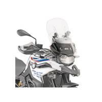 Parts - Body - GIVI - GIVI Airflow Clear Windscreen: BMW F850GS, F750GS