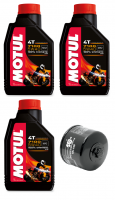 Motul - Motul 7100 Synthetic Oil Change Kit 5W-40: BMW F850GS, F750GS