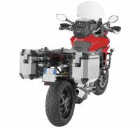 GIVI - Givi Outback Series Aluminum Side Case and Mounting 37L or 48L: Ducati Multistrada 950-1200S, Enduro